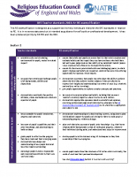 DFE Teacher standards 2013: An RE exemplification
