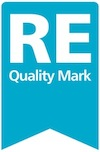 RE quality mark