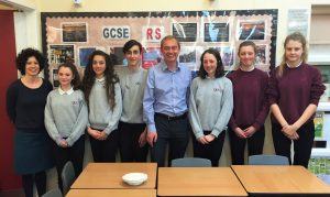Young Ambassadors for RE with Tim Farron