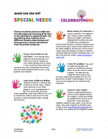 RE and special educational needs