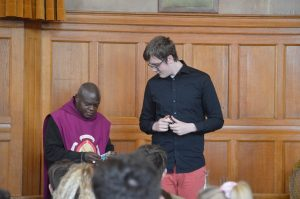 Young Ambassadors from The Queen Katherine School meet the Archbishop of York
