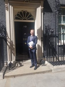 Commission on RE discussed at Downing Street